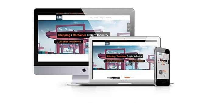 Web Design for Boruengineering.com