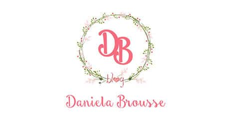 website design for Daniela Brousse logo