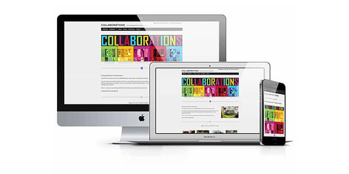 Web Design Ireland for Collaboration.website