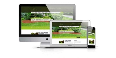Web Design for  for Alpine Garden Services Ireland