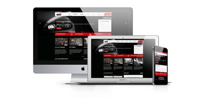 Web Design for MFK Auto Care