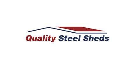 Quality Steel Sheds logo