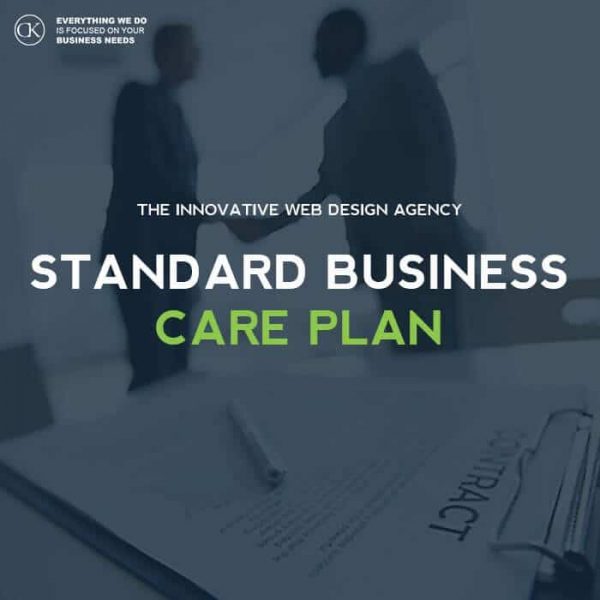 Standard website management care plan. website management web design dublin website design dublin website design ireland