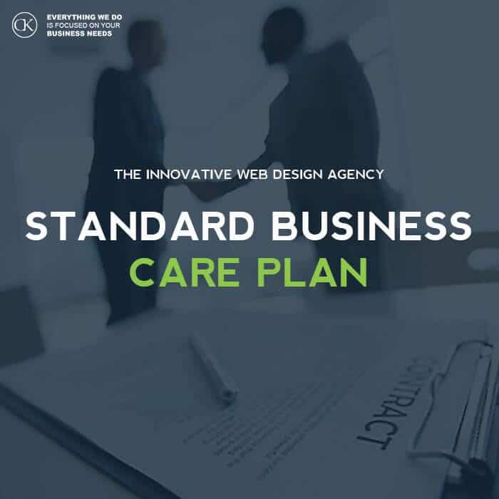 Standard website management care plan. website management web design dublin website design dublin website design ireland