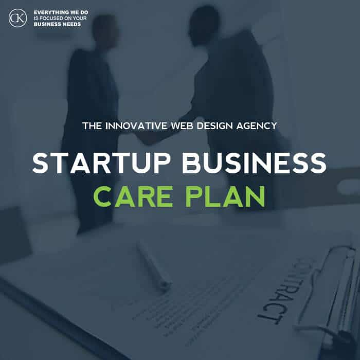 Website Care Plan for - Startup Business