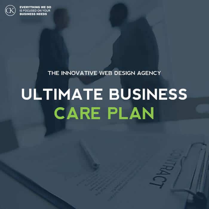 Website Care Plan for - Ultimate Business