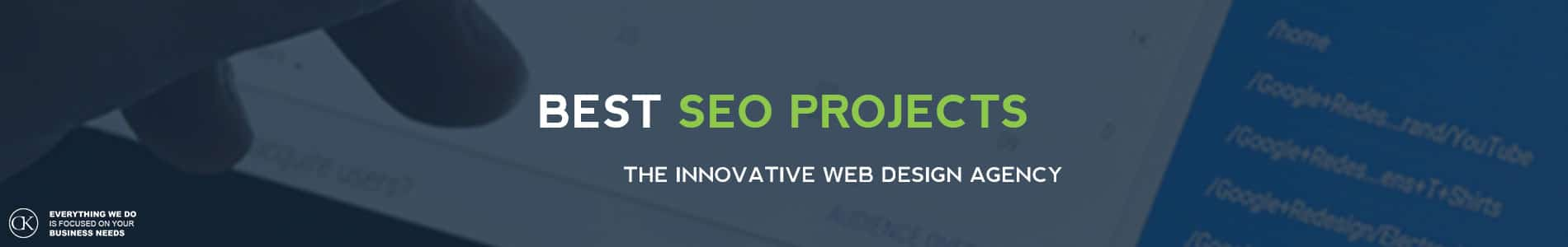 Best SEO projects by CK website design