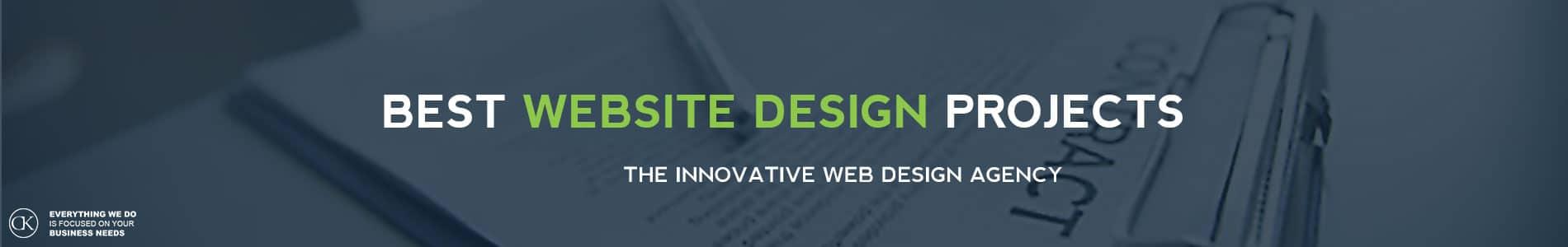 BEST website design projects by CK website design Dublin