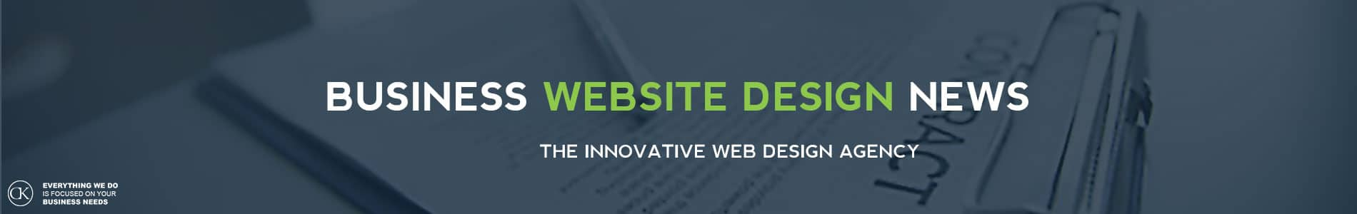 BUSINESS WEBSITE DESIGN NEWS