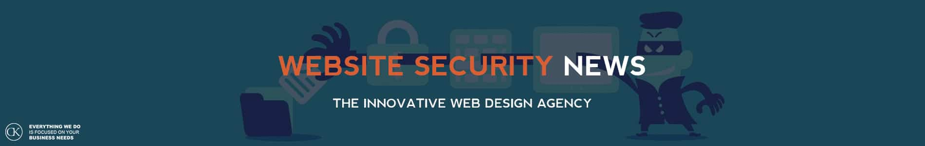 website security news by CK web design dublin