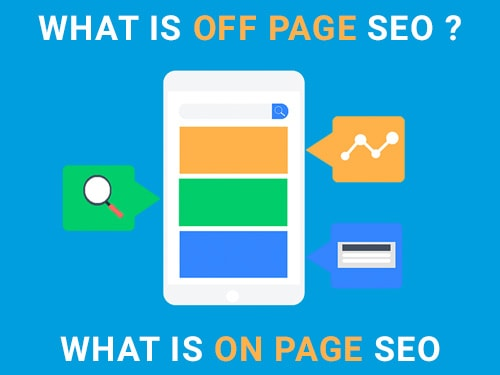 { HOW TO USE ON-PAGE AND OFF-PAGE SEO TO RANK YOUR WEBSITE? }