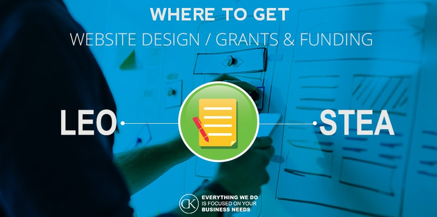 WEBSITE DESIGN GRANTS / FUNDING