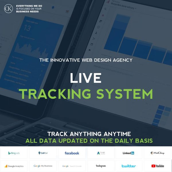 life tracking system for marketers and business owners