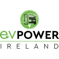website design Dublin of evpowerireland logo