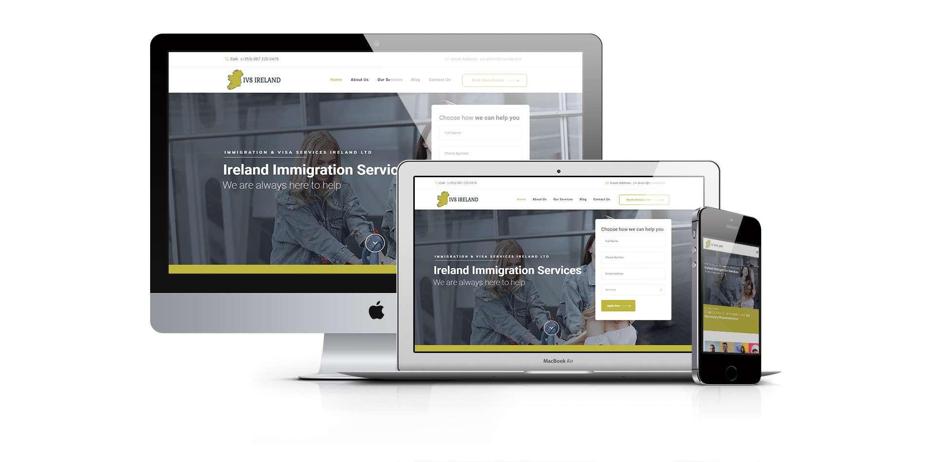 ivs ireland featured image - ve spoke website design by ck website design dublin